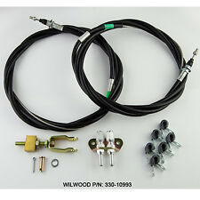 Wilwood 330-10993 Parking Brake Cable Assembly Wilwood Kit