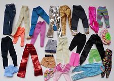 Lot Barbie doll pants shorts skirts clothes CLOTHING