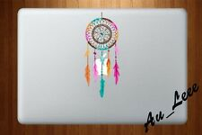 Macbook Air Pro Vinyl Sticker Decal Abstract Art Rainbow Dream Catcher CMAC017