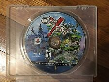 Cross Edge (Sony PlayStation 3, 2009) Disc & Case