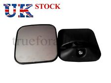 Set of 2x Side View Mirror fit Truck Bus Caravan Camper size 18x18 cm Universal