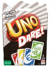 UNO DARE Card Game - Classic Twist to Card Game Brand New