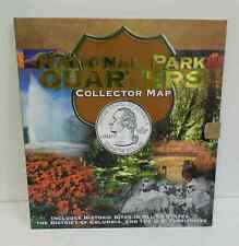 30 pc. (2010-2015) National State Park Quarters In Collectors Map Folder