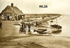North Norfolk Postcard - Wells next the Sea - The Quay Old Lifeboat House - WL26