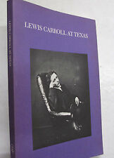 Lewis Carroll Texas Weaver Collection Alice Wonderland Looking Glass 1985 Illus