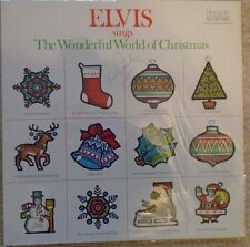 RARE ELVIS PRESLEY SIGNED VINYL LP OF CHRISTMAS SONGS