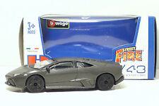 Bburago 30010 Street Fire Lamborghini Reventon - Met grigio - METAL Scala 1:43