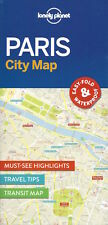 Lonely Planet Paris City Map (France) *FREE SHIPPING - NEW*