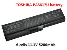 New 6Cell Battery PA3817U-1BRS PA3634U-1BAS C655 for Toshiba Satellite L655 L755