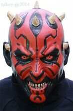 New Star Wars Darth Maul Rubber mask Made in Japan Free Shipping