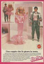 X1122 BARBIE - Profumo - Mattel - Pubblicità 1988 - Advertising