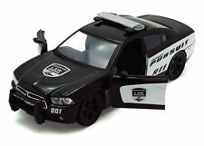 "MotorMax Dodge Charger Pursuit Police 1:24 scale 8"" diecast model car Black M31"