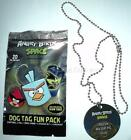 ANGRY BIRDS DOG TAGS SPACE Includes Tag & Chain & Stickers & Checklist MISP