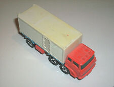 ## VINTAGE TOMY TOMICA NO. 7 RED/WHITE FUSO TRUCK SERIES BOX TRUCK MADE IN JAPAN