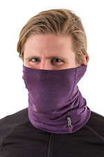 EDZ Merino 150g Multi-tube Neck Warmer Purple