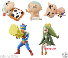 BANDAI Crayon Shin Chan Desktop Gashapon Mini Figure 2 (Set 5 pcs)