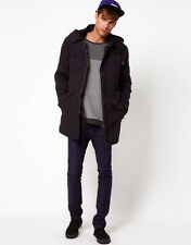 Selected Declan Mens Parka Jacket with Hood NAVY Size XXL Chest 44-46in rrp £125