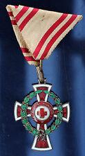 Austria WW1 Red Cross Decoration 2nd Class  War Laurel 1864 1918