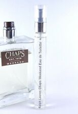 Ralph Lauren Chaps Weekend Eau de Toilette 10ml Spray 0.33oz EDT Men's SAMPLE