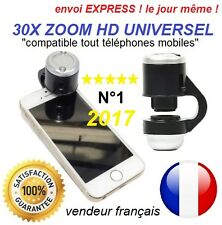 30X Optical Zoom mobile Phone Microscope Clip Lens For iPhone 5 6S iPad Samsung