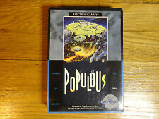Populous for the Sega Genesis system    Very Rare  BRAND NEW  Factory Sealed