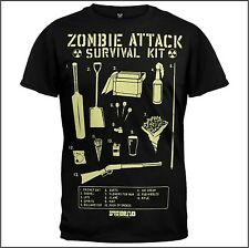 Shaun of the Dead-Zombie Attack Survival Kit, t-shirt, tamaño: xxl/2xl * k * U * L * t