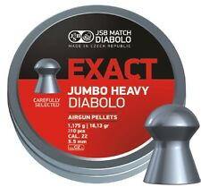 JSB Exact Jumbo Heavy Airgun Pellets  cal. 22 (5.52 mm) 250 pcs (546287-250)