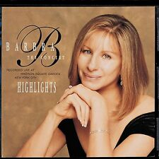 Audio CD - Barbra Streidand The Concert Highlights - People - The Way We Were
