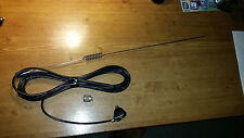 UHF CB ANTENNA bracket AERIAL WHIP WITH BASE LEAD COAX AND CONNECTOR