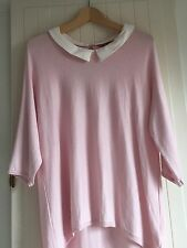 PHASE EIGHT Pale Pink Wool Blend Top 12