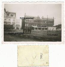 Frankreich Belgien Stadt Häuser Waggon Soldaten Besatzung 2 WK