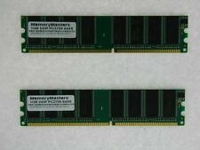 2GB 2X1GB PC2700 Memory Dell Dimension 1100 2400 3000 4550 4600 4800 8300 B110