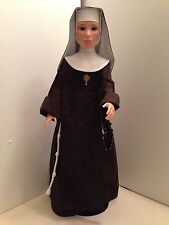 Blessings Catholic Nun Doll Franciscan Sister Perpetual Adoration Discontinued