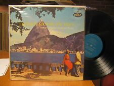 Orlando Silveira Carolina de Meneses Honeymoon in Rio LP Capitol T10038 Mono