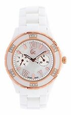 Guess GC Women's Sport XL-S Diamond Mother of Pearl Ceramic Swiss Watch - $1000