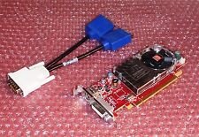 Dell Optiplex 740 580 320 SFF Low-Profile Dual VGA Monitor Video Card PCI-e x16