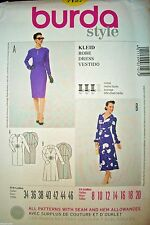 Burda 7127 Pattern UNCUT FF Retro 1940s Style Dress Size 8-10-12-14-16-18-20 OOP