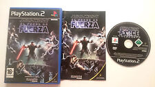 STAR WARS EL PODER DE LA FUERZA PLAYSTATION 2 PS2 PS1 PS2 PAL ESPAÑA