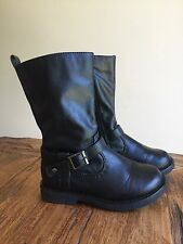 Pumpkin Patch Girls Boots Sz 9 EUC