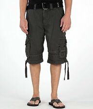 New Mens Rock Revival Cargo Shorts Size 36