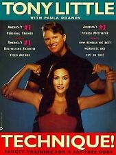 Technique : Target Training for a Fat-Free Body by Tony Little (1994, Paperback)