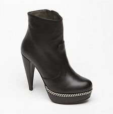 Bruno Magli- Leather Nerea Boots Uk 4.5 £240 Season Trend Like Lanvin