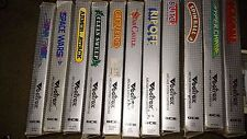 Vectrex Videogame Lot of 11 In Box