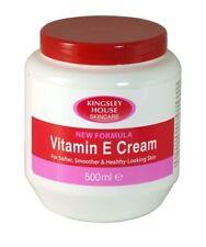 Kingsley House Skincare New Formula Vitamin E Cream For Body 500 ml