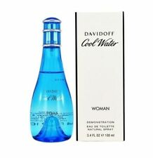 Cool Water by Davidoff 3.3 / 3.4 oz EDT SP Brand New *Tester* Perfume for Women