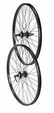 TRU-BUILD WHEELS 26 pollici Rear Disc Wheel JUMP RIM NERO 8/9 Velocità Nero 26 pollici