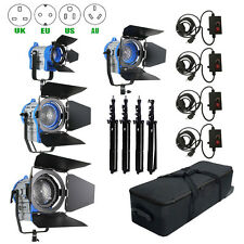 As Arri 150W+300W+650W+1000W Tungsten Spot light+Case+Stand+4 Dimmer Studio Kit
