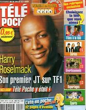 TELE POCHE N°2111 harry roselmack keanu reeves serge dupire audrey tautou 2006