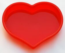 Cake Pan Large Heart Shaped Mold 100% Food Grade Silicone Bakeware FDA Approved