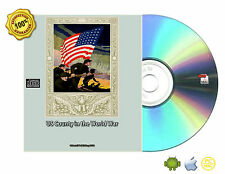 US County in the World War Collection 55 Books On CDROM